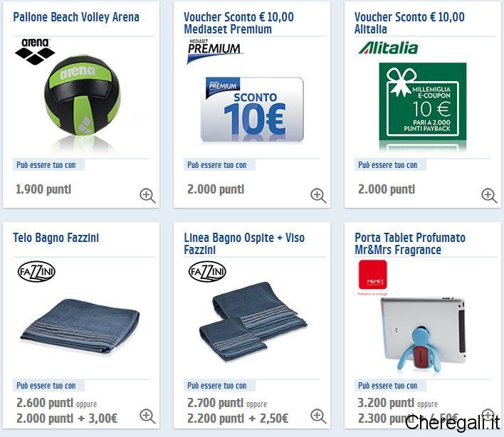 Carta Payback: Raccolta Punti Benzina Esso 2014/2015