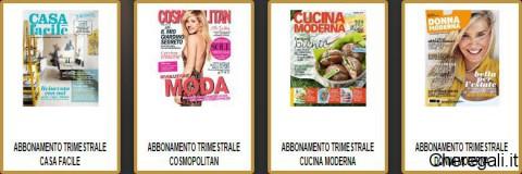 Abbonamento di 3 mesi a rivista con golden lady che regali for Abbonamento a cucina moderna