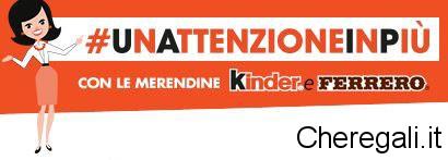 Nuovo Catalogo Premi #UnAttenzioneinPiù 2015/2016 Kinder