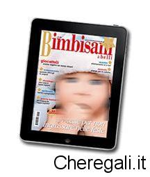 Abbonamento bimbisaniebelli gratis con iscrizione for Cerco regali gratis