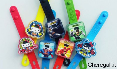 Orologio Hello Kitty e Supereroi Sorpresa Happy Meal Agosto