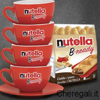 Concorso Nutella B-ready Vinci Kit Colazione