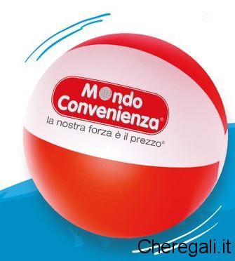 Pallone Mare/Cuscino Gonfiabile Omaggi Mondo Convenienza