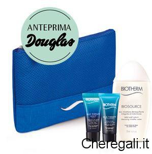 Pochette Omaggio con Biotherm Blue Therapy