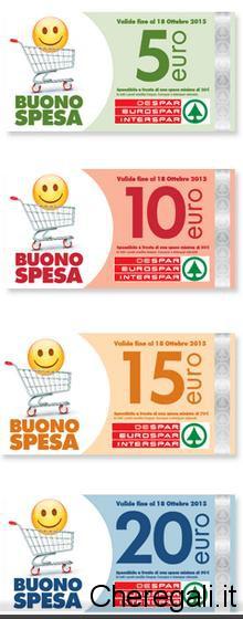 Raccolta Bollini Despar Regala Buoni Spesa 2015