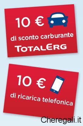 Carburante/Ricarica Telefonica Omaggio con Manetti e Roberts