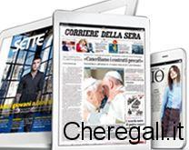 Abbonamento Corriere della Sera/Gazzetta Omaggio da IBS
