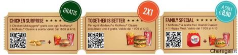 Promozione McDrive Show: Buoni Sconto al McDonald's
