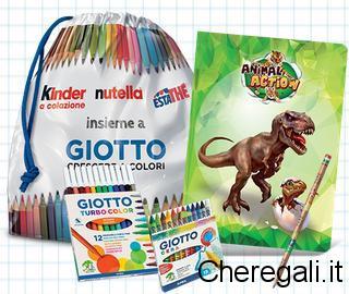 Kit Scuola Premio Certo con Kinder & Ferrero