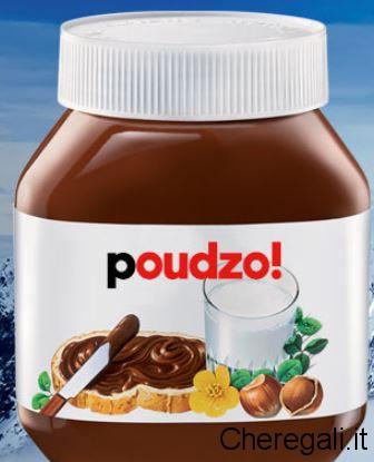Etichetta Dialetti Omaggio con Nutella