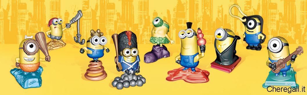 Collezione Pupazzetti Minions con Kinder Sorpresa