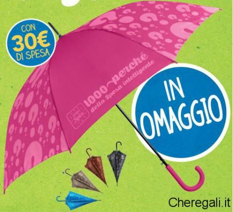 9-10 Ottobre: Ombrello Maxi Omaggio da Eurospin
