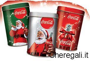 Barattoli Natale 2015 Omaggio con Coca Cola