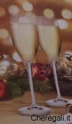 Calici Flùte Bormioli Premio Sicuro con Scatola Ferrero