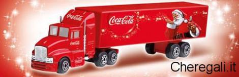 Camioncino, Calendario e Bicchiere Omaggio con Coca Cola