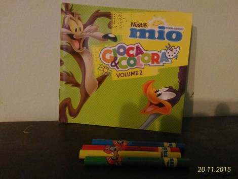 Libretti Gioca & Colora Omaggio con Formaggino Mio