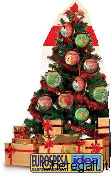 Palline di Natale Disney Omaggio da Eurospesa (Friuli/Veneto)