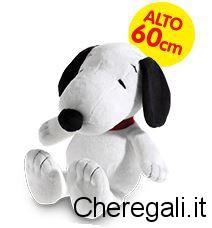 Concorso Nutella Vinci Peluche Snoopy (Alto 60 cm)
