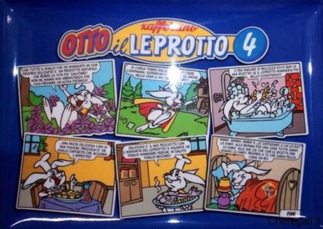 Vassoio Zafferano Otto il Leprotto Omaggio con DiPiù Tv