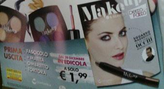 Matita Ombretto Tortora in Regalo con Make Up Detto Fatto