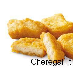 4 Nuggets Omaggio da McDonald's (Solo 15 Dicembre)