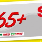 Carta Acquisti Over 65: Sconto 10% al Simply