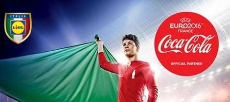 Concorso Coca Cola Lidl Vinci Biglietti Europei Calcio 2016