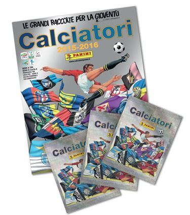 Album Calciatori Panini 2015/2016 e Figurine Regalo Mondo Convenienza