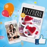 Vanity Fair o La Cucina Italiana in Abbonamento Gratis con Parmalat