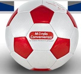 Pallone Calcio di Cuoio Regalo da Mondo Convenienza