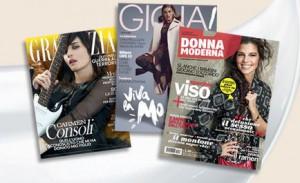 Abbonamento Grazia Gioia Donna Moderna Regalo con Franck Provost