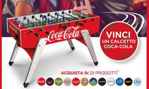 Istant Win Carrefour: Vinci Calcetto Coca Cola