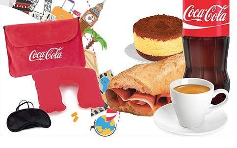 Kit da Viaggio Coca Cola Omaggio da MyChef