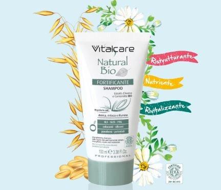 Shampoo Fortificante Natural Bio Omaggio Donna Moderna