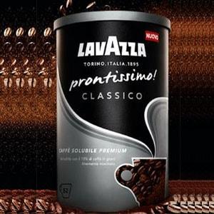Confezione Omaggio Caffè Solubile Prontissimo Lavazza
