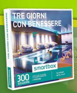 Concorso Rovagnati Vinci Cofanetto Smartbox 3 Giorni con Benessere