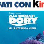 Biglietto Cinema Omaggio Alla Ricerca di Dory da Esselunga con Kinder