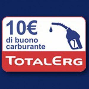 Buono Benzina TotalErg Premio Sicuro con Felce Azzurra