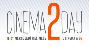 Biglietto Cinema a 2 Euro, Ogni Secondo Mercoledì del Mese