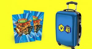 K2 Concorso Gioca e Vinci Trolley e Coppia Biglietti a Gardaland