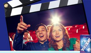 Voucher Cinema 2×1 in Regalo con Vivident