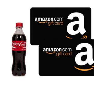 Vinci Buoni Amazon con Concorso Natale 2016 Coca Cola