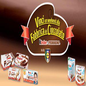 Visita Fabbrica del Cioccolato con Kinder e Ferrero da Lidl