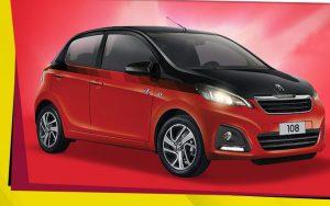 Fonzies Concorso Vinci Macchina Peugeot 108 X Factor