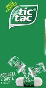 Portaconfetti Tic Tac da Tavolo Omaggio da Esselunga