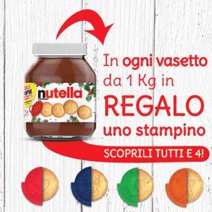 Stampini Biscotti Omaggio Nutella