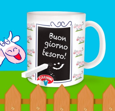 Tazza Message Mug Premio Certo Latte Carnini