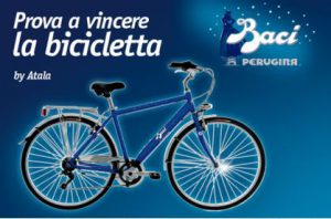 Concorso a Premi Conad Vinci Bici Baci Perugina
