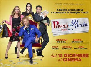 """Vinci Biglietti film """"Poveri ma ricchi"""" con Lidl"""
