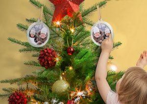Premio certo Wilkinson femminile: addobbi natalizi personalizzati con foto
